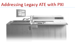addressing legacy ate requirement with pxi